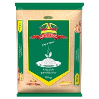 RICE KING PARBOILED RICE 10KG